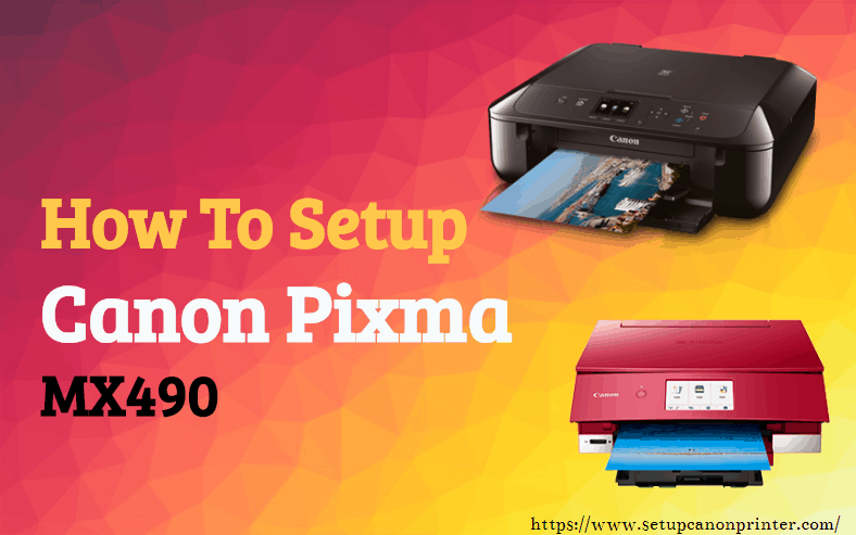 How the user can connect the Canon Pixma mx490 printer With the Wifi Modem with the USB connection?