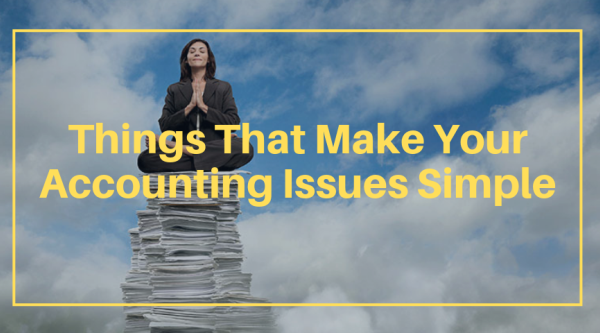 Things That Make Your Accounting Issues Simple